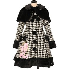 Angelic Pretty   Royal Poodle Court (Lame Hound's Tooth) https://www.wunderwelt.jp/en/products/w-30593  Worldwide shipping available    How to order ✨ → https://www.wunderwelt.jp/en/shopping_guide