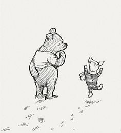 Winnie-the-Pooh illustrations by E.H. Shepard