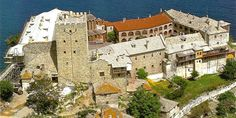 Monastery of Pantokratoros in Athos Athens Greece, Macedonia Greece, The Holy Mountain, Greek History, Pilgrimage, World Heritage Sites, Art And Architecture, Natural Beauty, To Go