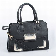 Guess Black Cross Body Woman Bag with Large Logo - New Arrival Guess Handbags-Campaign Categories - TopBuy.com.au