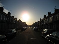 Roath in the morning.
