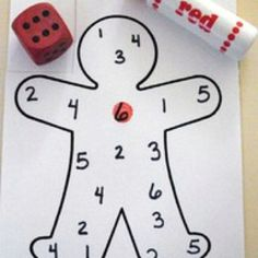 Great activity to teach number recognition for preschoolers