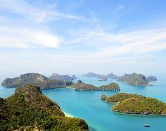 Koh Samui, Thailand - Ang Thong National Marine Park