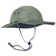The GRIFFIN Performance Sun Hat in Dirty Olive