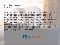 A Month of Writing Prompts | BookFuel