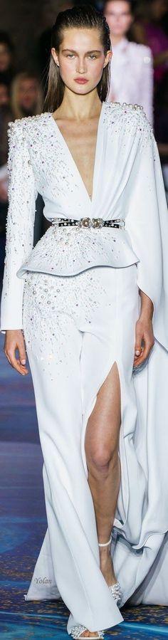 Zuhair Murad, Couture Fashion, Runway Fashion, Spring Fashion, Versus Versace, Glamour, Wedding Wear, Timeless Fashion, Peplum Dress