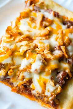 Sloppy Joe Pizza - This is Not Diet Food Sloppy Joe Pizza is an easy ground beef dinner recipe using Pillsbury pizza crust and homemade sloppy joe sauce. Homemade Sloppy Joe Recipe, Homemade Sloppy Joes, Sloppy Joes Recipe, Beef Recipes For Dinner, Ground Beef Recipes, Sloppy Joe Casserole, Hamburger Casserole, Chicken Casserole, Casserole Recipes