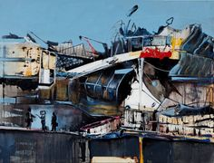 "Saatchi Art Artist Marcus  Jansen; Painting, ""Plots and their influential friends"" #art"