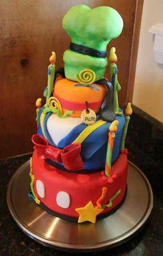 Disney fab 5 cake