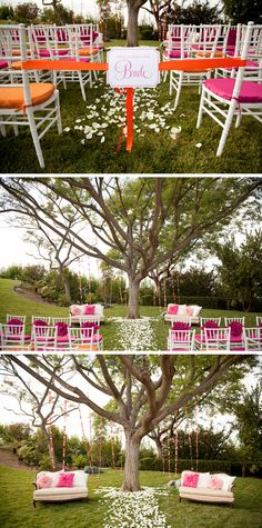 Pink-and-Orange-Weddings-2 http://blog.weddingwire.com/index.php/weddings/modern-vibrant-wedding-style-shoot-inspiration/#