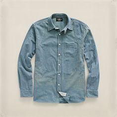 コットン Owyhee ワークシャツ ・ メンズ シャツ ・ アパレル ・ メンズファッション通販 | RRL - Ralph Lauren Japan (ラルフローレン)