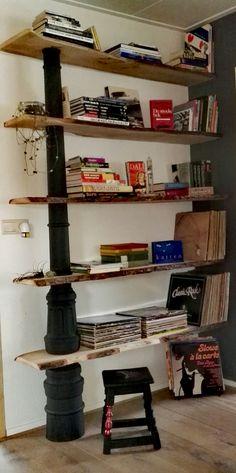 Boeken/platen planken