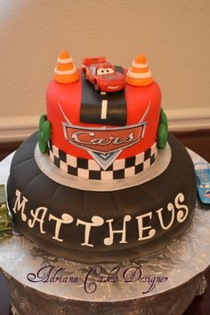 find this pin and more on cars birthday party ideas by carolinajenn disney cars cake