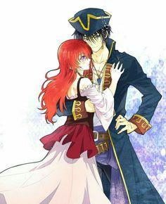 Hak n Yona in pirates costume
