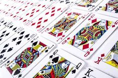 There are lots of puzzles you can make that just involve a set of playing cards... Maybe certain cards are missing, or your players have to count how many are in any particular suit.