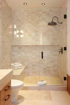 Bathroom reno on pinterest small bathrooms small master for Second bathroom ideas
