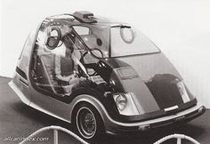 Toyota EX-II (1969) a company which has long been a world leader in practical inovation