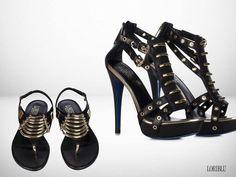 Loriblu Black Calfskin Sandal with Platform   Buy ➜ http://shoespost.com/loriblu-black-calfskin-sandal-with-platform/