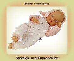 Schildkröt Puppenkleidung, Nickyanzug mit Zipfelmütze,... nur 29.90 EUR