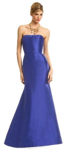 Reem Acra - Adela Trumpet Gown #QueenLissa