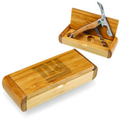 The Elan - Bamboo makes a thoughtful gift for one's earth-conscious friends who enjoy wine. #NFLgear #apollotoysandgifts #collectibles #holidaygifts #christmasgifts #presents #NFLNewYorkGiants #NFLGiants