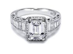 tacori exactly how I want my engagment ring to look! Love the baguettes(a must) it's my fav! <3