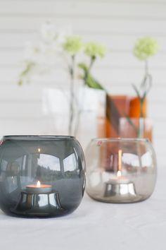 Pretty Lights, Marimekko, Scandinavian Design, Interior Architecture, My House, Wine Glass, Candle Holders, Cottage, Candles