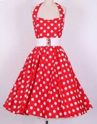 1950s style dress that I love!