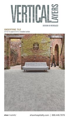 Undertone Tile 5T157 in color Past 57515 | installed ashlar