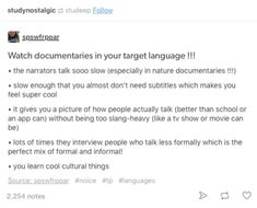 Learning spanish Language study Learning languages Language Learn a new language Learn korean - I hope you will find that a lot of these benefits are rather enlightening and carefully think about - The More You Know, Good To Know, Writing Tips, Writing Prompts, 1000 Lifehacks, Learning Languages Tips, Learn Another Language, School Study Tips, School Tips