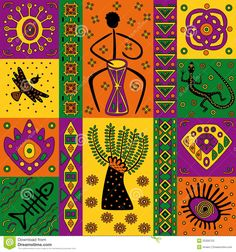 Illustration about Figure in the African style for the design or background. Illustration of illustration, ethnic, decoration - 25356593 African Pattern Design, African, African Pottery, Indigenous Art, Tribal Art, Africa Art Design, African Pattern, African Art, Pattern Art