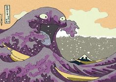 Dorkly Staff Blog - a japanese painting gone toxic #Pokemon