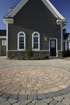 CircleStone Cobbled #Driveway (Color: James River.) #outdoor #entrance