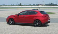 Test Drive: Alfa Romeo Giulietta Quadrifoglio verde a Balocco - ItalianTestDriver