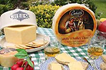 Cahill's Whiskey Cheese-with fruit or sandwich