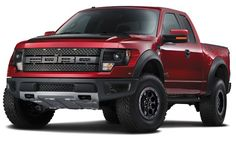 2014 Ford F-150 SVT Raptor Special Edition in Ruby Red Metallic This truck is on my I WANT LIST!!!!!!