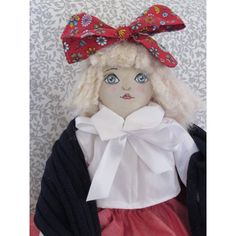 One of a kind hand made rag doll who is ready for new friends. She looks great sitting on a shelf, a chair or just lying on a bed. A lovely birthday gift, Christmas present or gift to thank someone. Thanking Someone, Christmas Presents, New Friends, Looks Great, Shawl, Birthday Gifts, Handmade Gifts, Dolls, Disney Princess