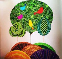 Millie Marotta colouring book