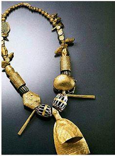 Ashanti gold necklace