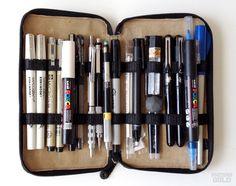 Travel art kit journals pencil cases 31 ideas for 2019 – ARTSUPPLİES Jeanne D'arc, Pen Case, Urban Sketching, Travel Kits, Drawing Tools, Art Sketchbook, Art Techniques, Art Supplies, Art Drawings
