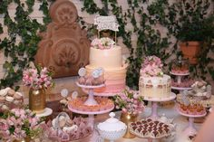 Bella_Fiore_Decoração_festa_cha_de_panela_rosa Bella_Fiore_Decor_party_bridal_shower_pink
