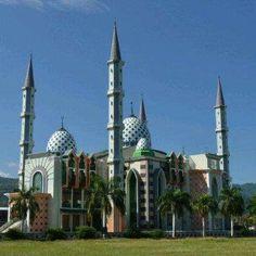 Masjid Agung Mamuju, Sulawesi, Indonesia