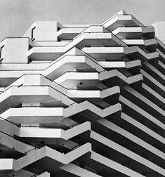 "wmud: "" william morgan architects - pyramid condominium apartments, ocean city, maryland, 1971 """