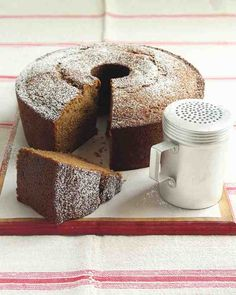 Cinnamon, cardamom, and honey add warmth and sweetness to this moist cake. The recipe calls for homemade applesauce, but you can also use store-bought.