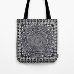 Buy MANDALIKA MOON Tote Bag by Nika . Worldwide shipping available at Society6.com. Just one of millions of high quality products available. #mandala #bohochic #flower #bohemian #surf #beach #totebag #boho #bloggerstyle #nikamartinez