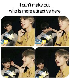 And i just wanna talk about the look jk is giving tae like, he looks so found of tae like he is thr most precious thibg in the world and that's beautiful ;-;