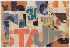 Henry Rothman, Untitled (Red T), circa 1974-79. Paper collage, 7-1/4 x 10-1/2 inches. Courtesy of Lori Bookstein Fine Art