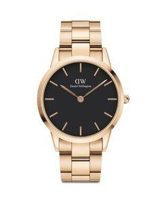 Mesh Bracelet, Metal Bracelets, Link Bracelets, Bracelet Watch, Daniel Wellington Men, Moon And Star Ring, Watch Case, Stainless Steel Case, Gold Watch