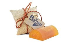 Romario Groomsmen - Turmeric Tamarind WILD HONEY Aromatherapy Hand Made Luffa Soap (Natural Loofah Sponge Scrubber with Bar Soap) 100g Brightening Soft Skin in Unique Handcraft Gifts Souvenir - Hand made Product -- With aromatherapy agents to give you sensuality. Remove all dirts and stimulate blood circulation with luffa. -- Contain: 2 Nutrition of Fruit and Wild Honey **Eco Product from Natural and Traditional of thailand** Ingredient : Glucerin Based Luffa Turmeric Tamarind Extract E...
