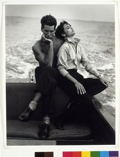 Perry Ellis at Brown's by Bruce Weber, 1985. l Victoria and Albert Museum #fashion #photography